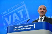 Press conference by Pierre Moscovici, Member of the EC, on the European Commission's proposals to give more flexibility to Member States to set VAT rates and to simplify VAT obligations for SMEs