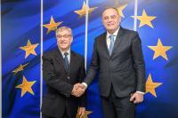 Visite de Milutin Simović, vice-Premier ministre monténégrin et ministre de l'Agriculture et du Développement rural, à la CE