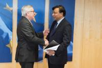 Visit of Lakshmi Mittal, Founder, President of the Board and CEO of Mittal Steel Company, to the EC