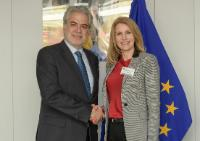 Visit of Helle Thorning-Schmidt, CEO of Save the Children International, to the EC