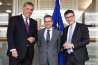 Visit of Stefan Kaufmann, Member of the German Bundestag, to the EC