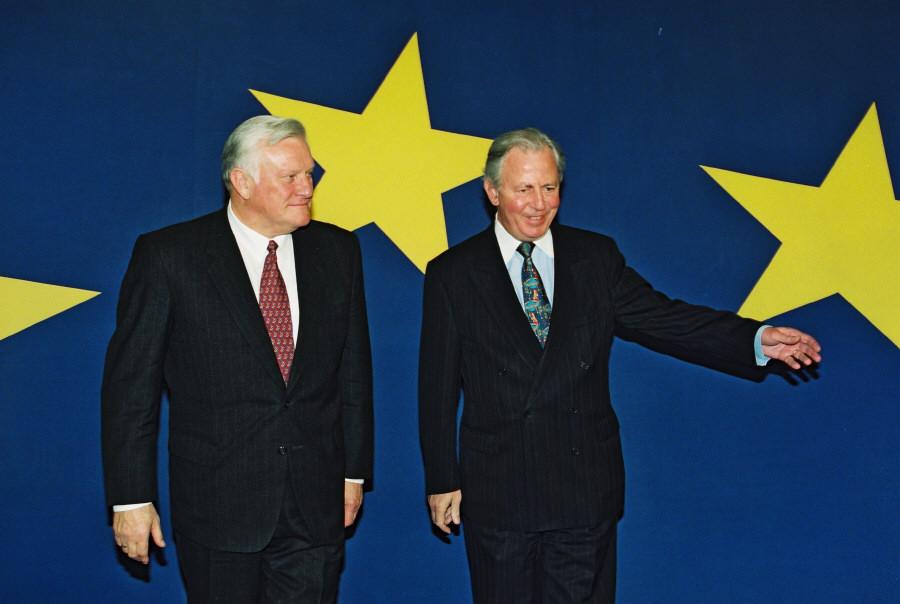 Visit of Algirdas Brazauskas, President of Lithuania, to the EC