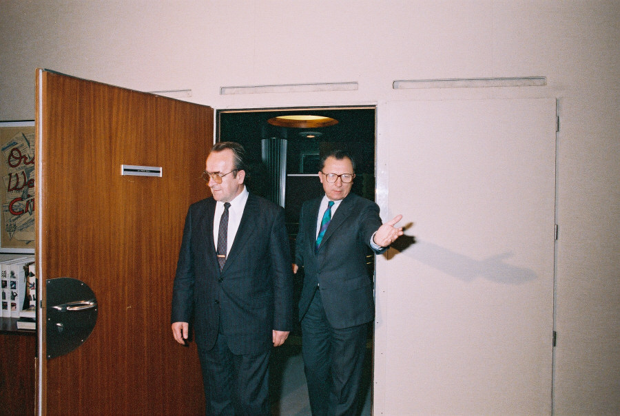 Visit of Branko Mikulić, Yugoslav Prime Minister, to the CEC