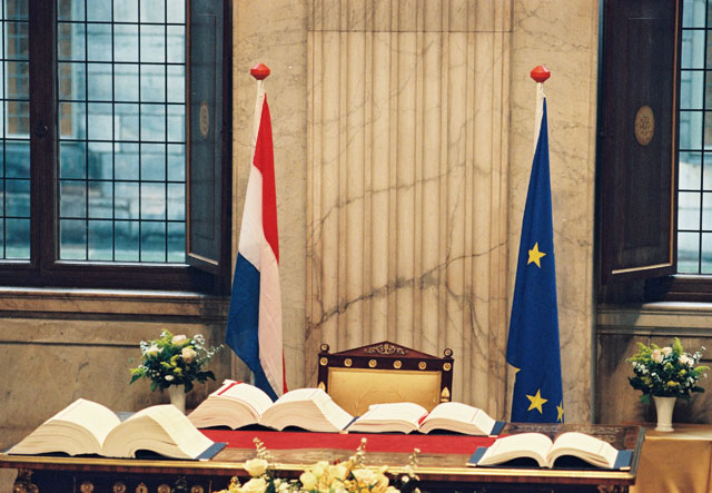 Signing of the Treaty of Amsterdam