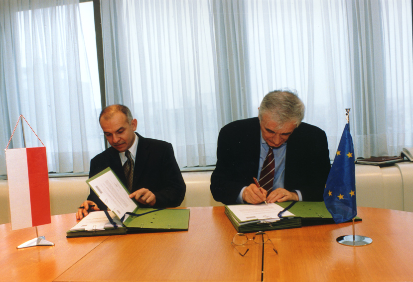 Signature of joint evaluation of the priorities of Poland's economic policy