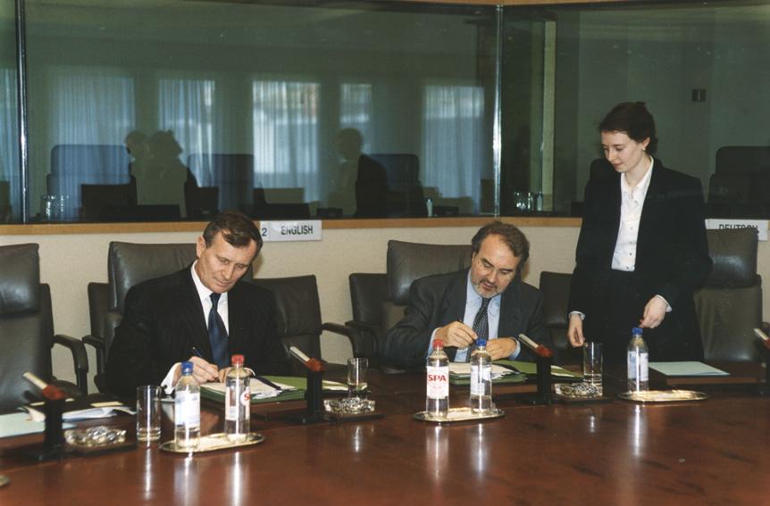 Signature de l'évaluation conjointe des priorités de la politique économique hongroise