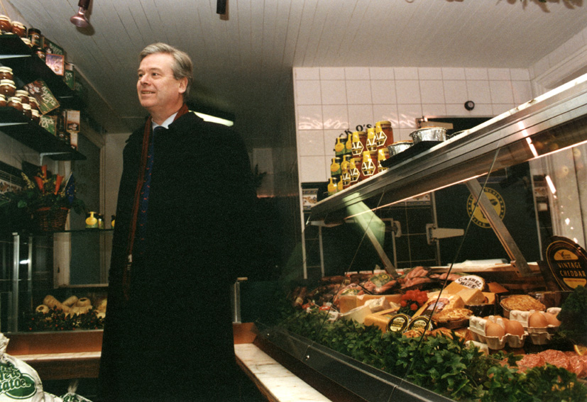 David Byrne, member of the EC, and Retail Trade
