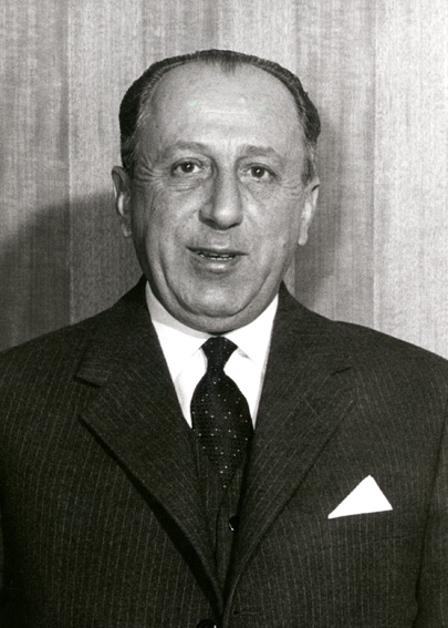 Giuseppe Caron, Vice-President of the Commission of the EEC