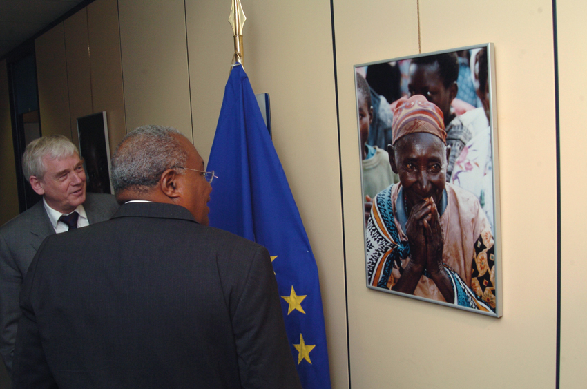 Visit of Gérard Latortue, Haitian Prime Minister, to the EC