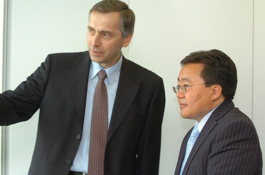 Visit of Tsakhiagiyn Elbegdorj, Mongolian Prime Minister, to the EC