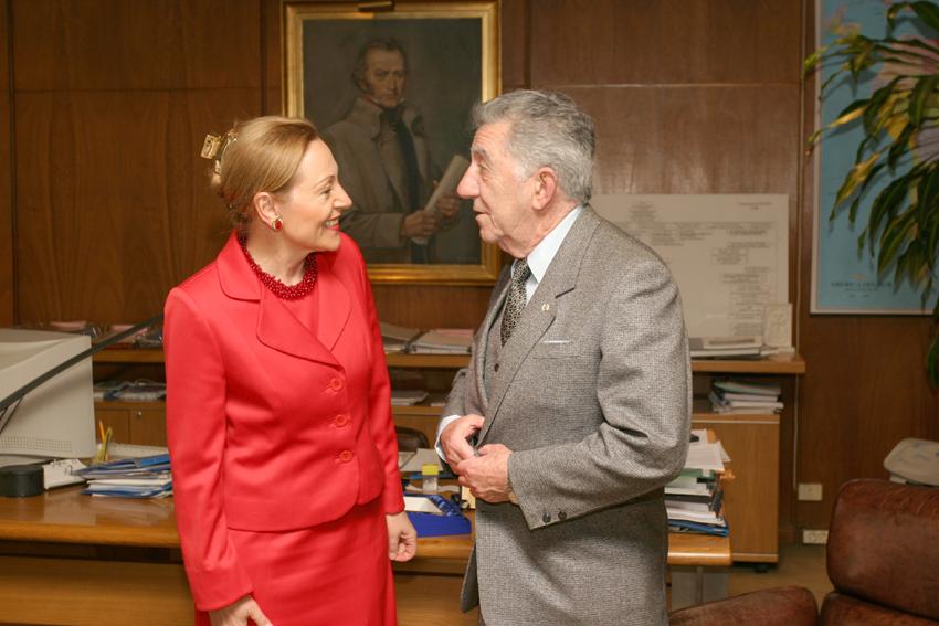 Visit of Benita Ferrero-Waldner, Member of the EC, to Uruguay