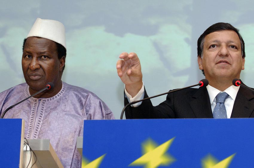 Visit by Alpha Oumar Konaré, President of the Commission of the African Union, to the EC