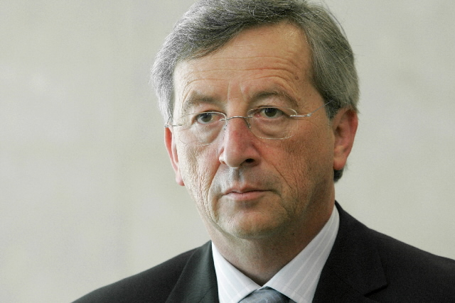 Visit by Jean-Claude Juncker, Luxembourgish Prime Minister, Minister for Finance and Chairman of the Eurogroup, to the EC
