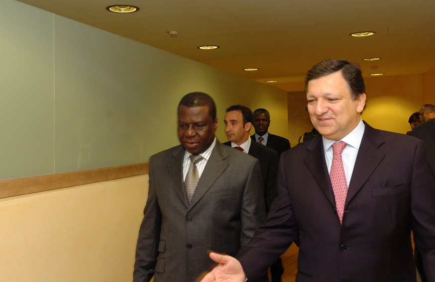 Visit by João Bernardo Vieira, President of Guinea-Bissau, to the EC
