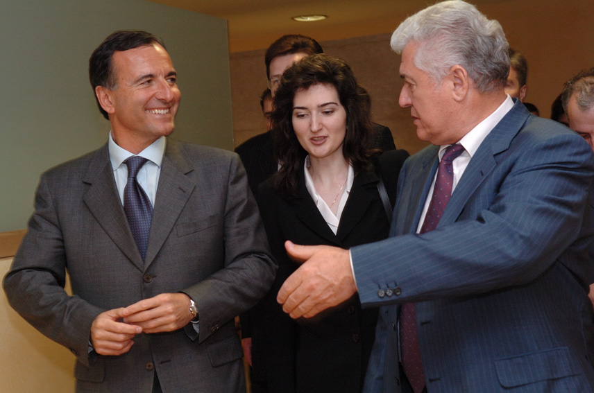 Visit by Vladimir Voronin, President of Moldova, to the EC