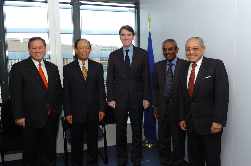 Visit by a delegation of ASEAN ministers to the EC