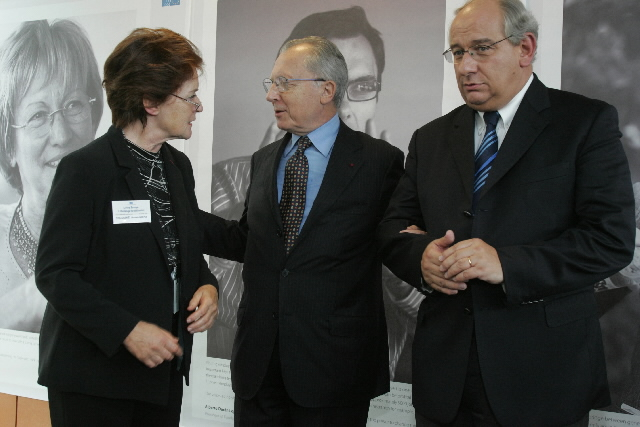 Inauguration of the 'Jacques Delors' building