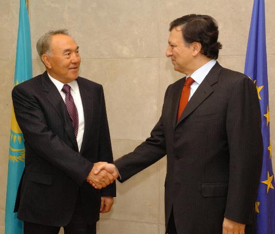 Visite de Noursoultan Nazarbaïev, président du Kazakhstan, à la CE
