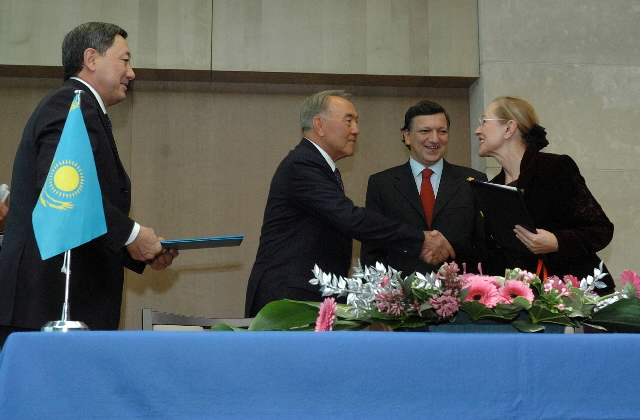 Visit by Nursultan Nazarbayev, President of Kazakhstan, to the EC