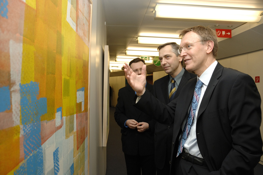 Opening of the Modux 2004-2006 by Janez Potocnik and Jan Figel', Members of the EC