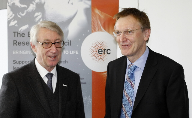 Janez Potocnik, Member of the EC at the launch the European Research Council (ERC)