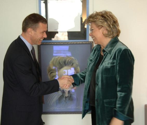 Visite d'Ed Richards, PDG d'OFCOM, à la CE