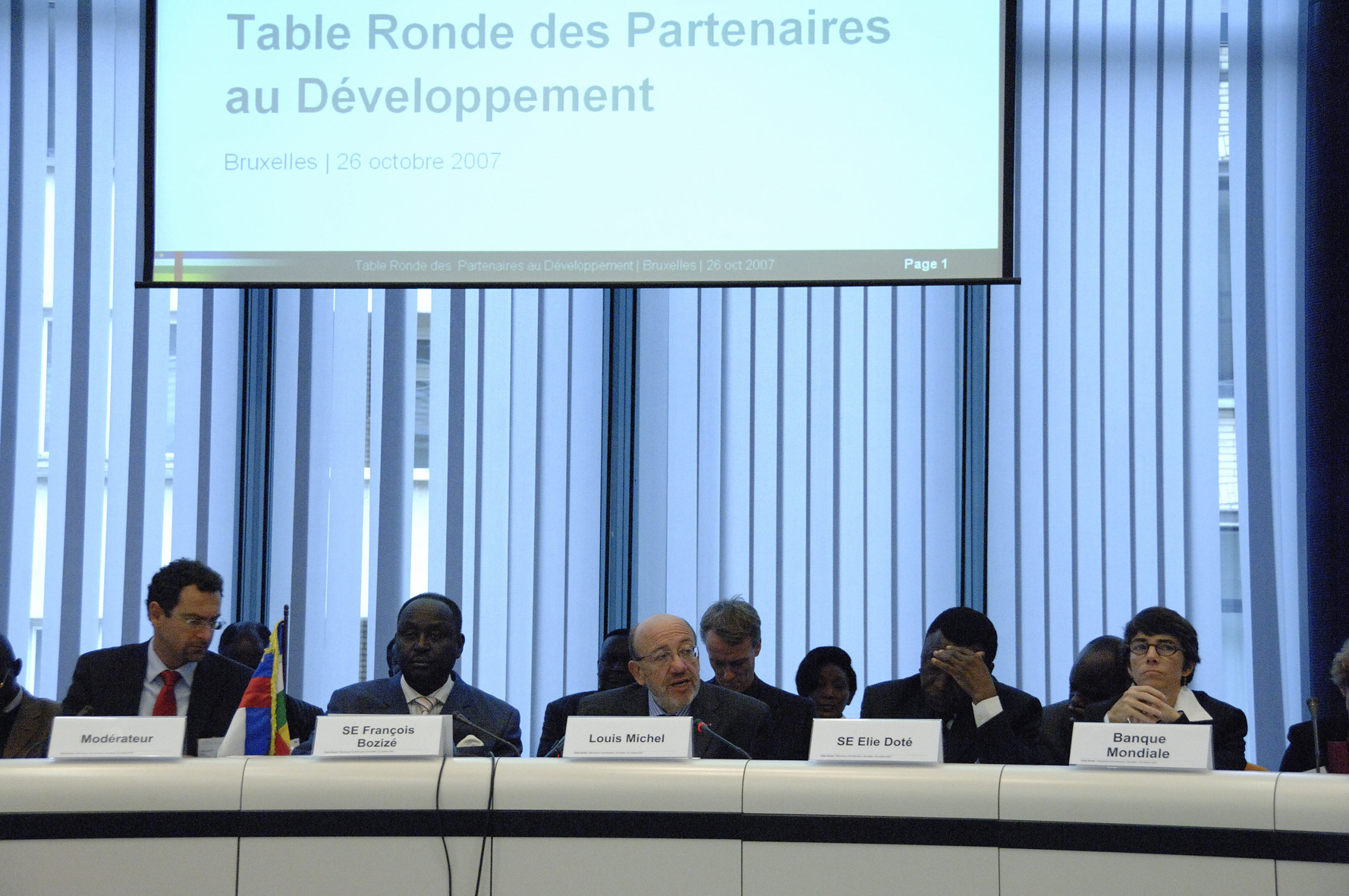 Round table on the Central African Republic