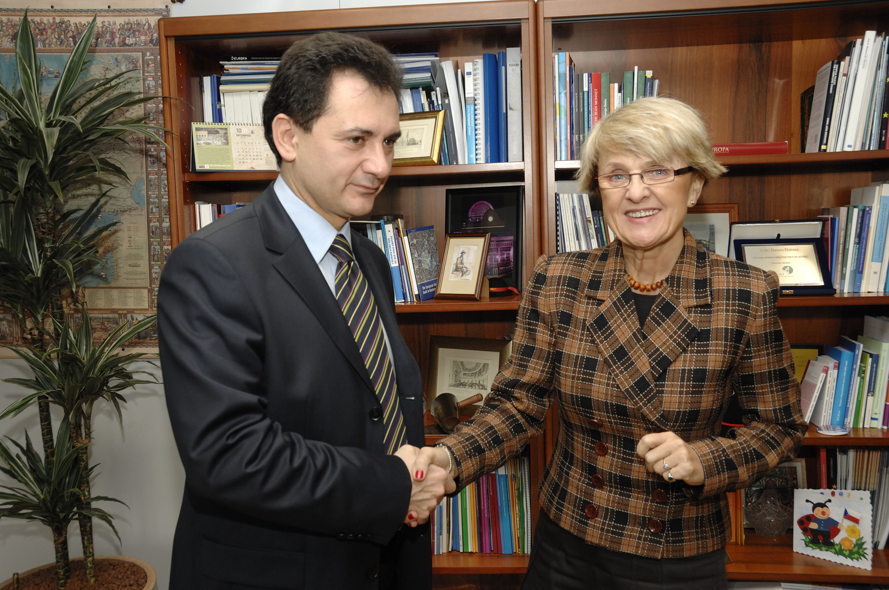 Visit by Bozidar Djelic, Serbian Deputy Prime Minister, to the EC