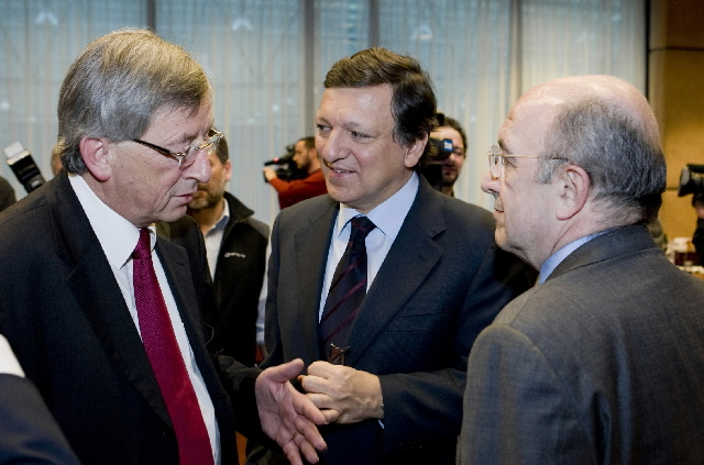 Participation of José Manuel Barroso, President of the EC, and Joaquin Almunia, Member of the EC, in the Eurogroup meeting