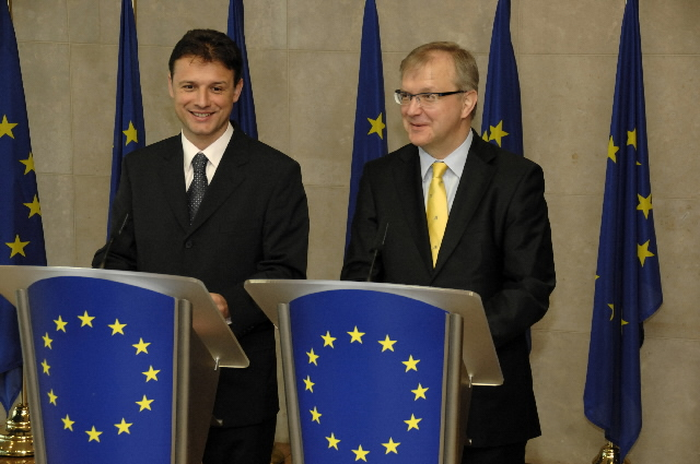 Visite de Gordan Jandroković, ministre croate des Affaires étrangères et de l'Intégration européenne, à la CE