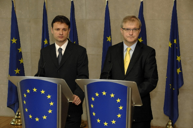Visit of Gordan Jandroković, Croatian Minister for Foreign Affairs and European Integration, to the EC