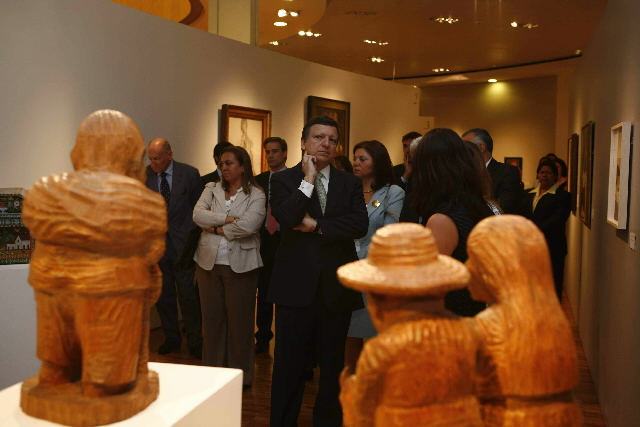 Visit of José Manuel Barroso, President of the EC, to Mexico