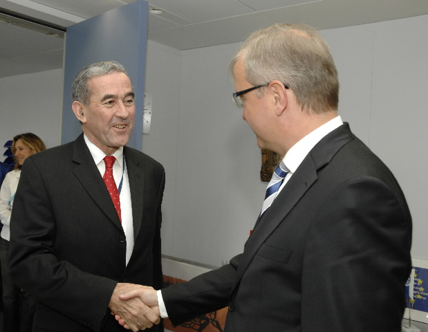 Visit of Yves de Kermabon, Head of the EULEX  Mission to Kosovo, to the EC