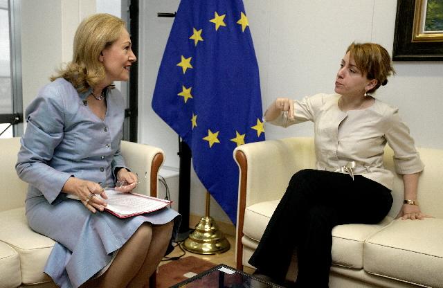 Visit by Eka Tkeshelashvili, Georgian Minister for Foreign Affairs, to the EC