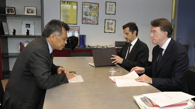Visit by Surin Pitsuwan, Secretary General of the ASEAN, to the EC