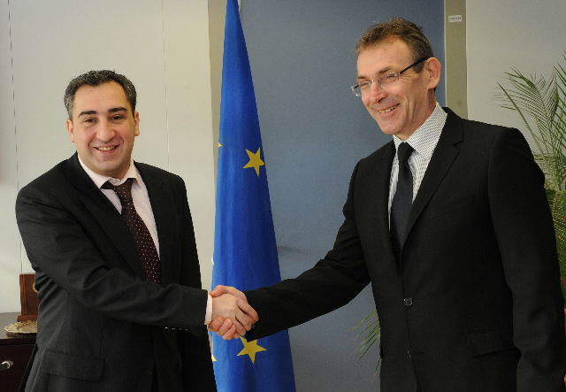 Visit of Nika Gilauri, Georgian Prime Minister, to the EC