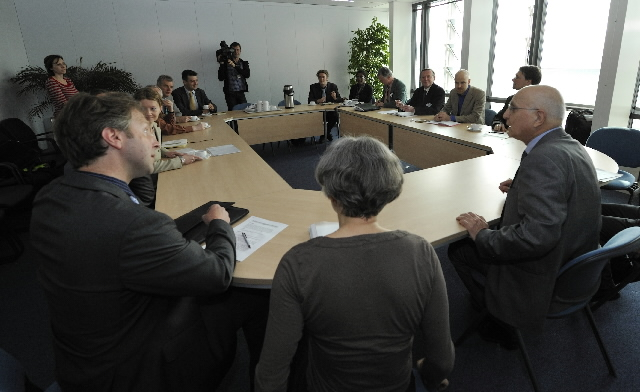 Visit of environmental NGOs to the EC