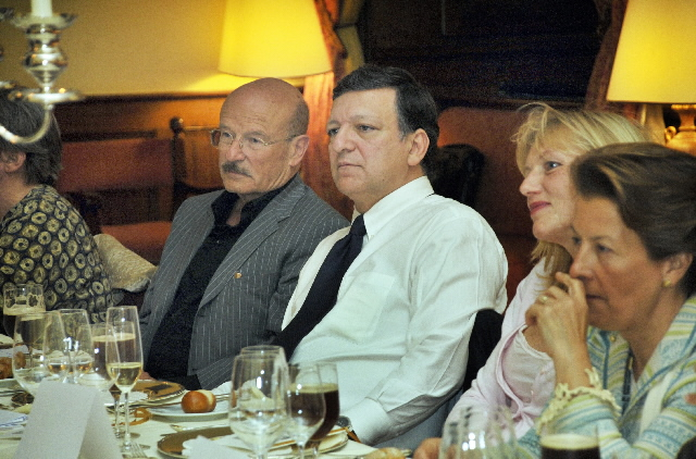 Participation of José Manuel Barroso, President of the EC, at the cinematographic event Image of Europe