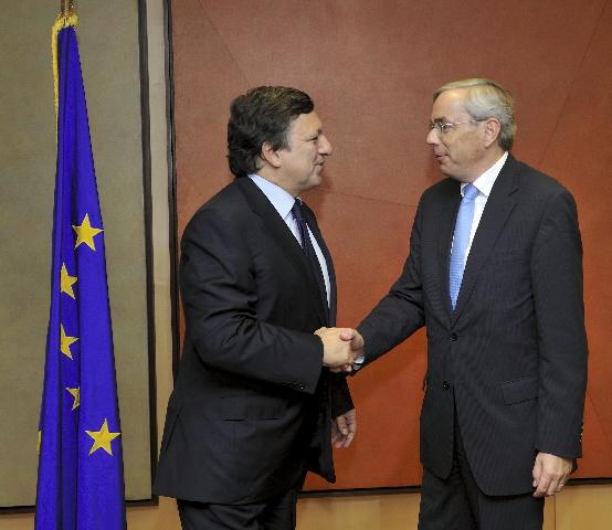 Visite de Thomas Mirow, président de la BERD, à la CE