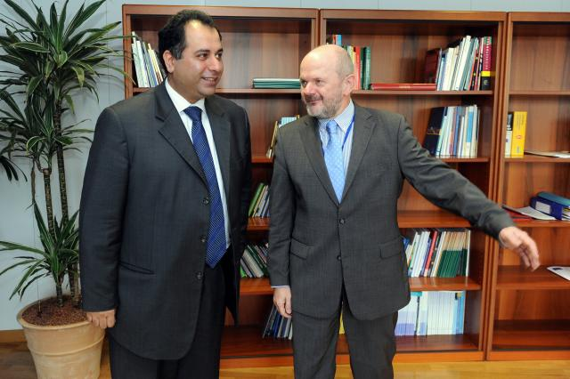 Visit of Sajjad Karim, Member of the EP, to the EC