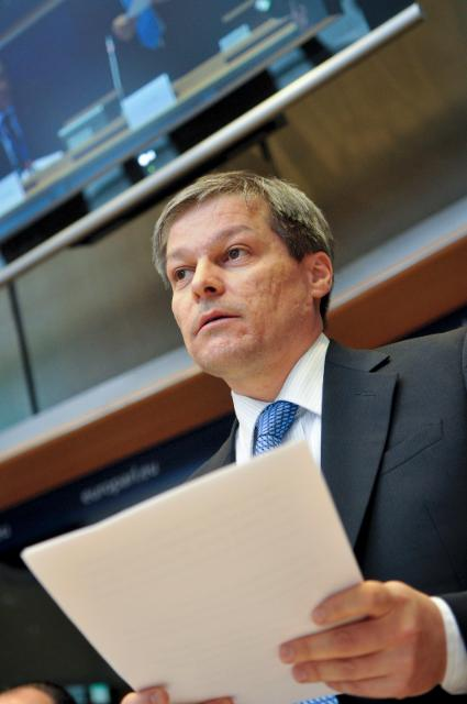 Participation of Dacian Cioloş, Member of the EC, at the EP plenary session