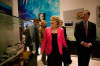 Visit of Viviane Reding, Vice-President of the EC, to Shanghai