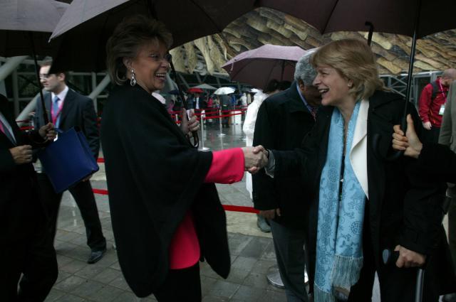 Visit of Viviane Reding, Vice-President of the EC, to Shanghai