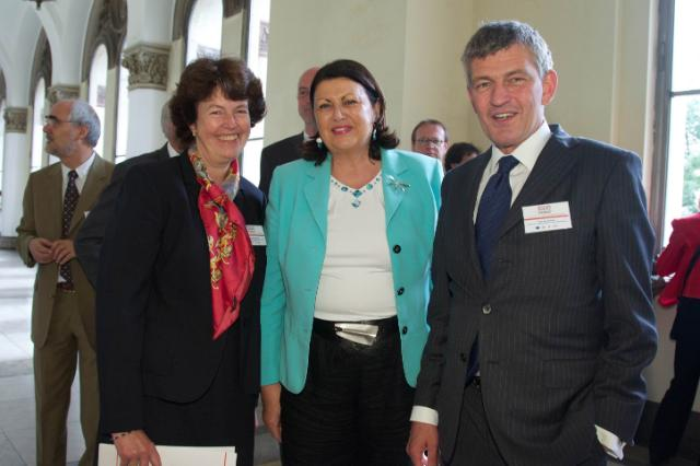 Visite de Máire Geoghegan-Quinn, membre de la CE, en Allemagne