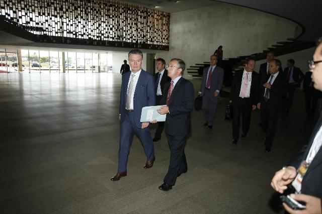 Visit of Karel De Gucht, Member of the EC, to Brazil