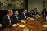 Visit of Karel De Gucht, Member of the EC, to Brazil