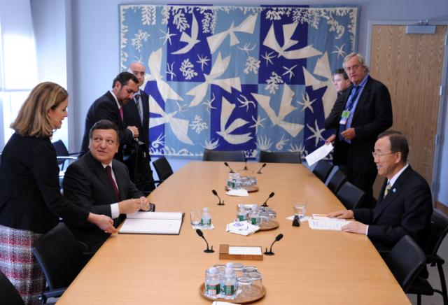 Visit of José Manuel Barroso, President of the EC, to New York (part 1)