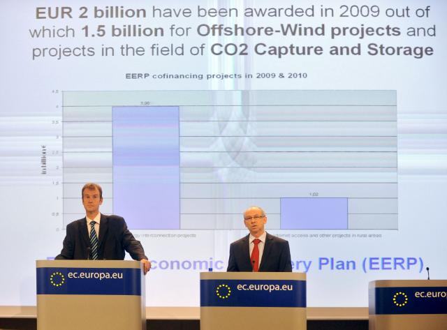 Press conference by Janusz Lewandowski, Member of the EC, on the Financial Report 2009 of the EU