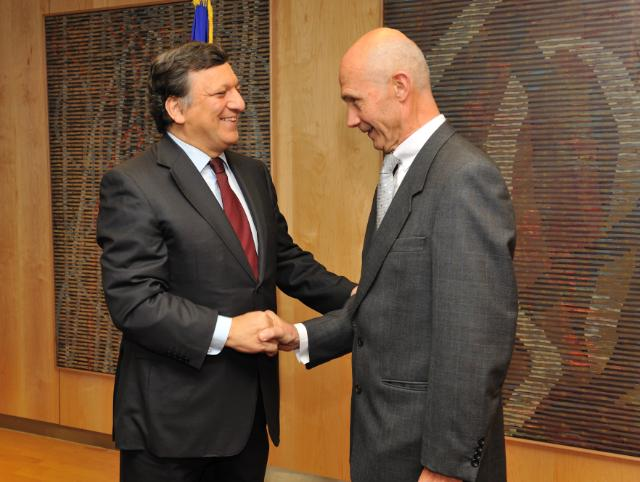 Visit of Pascal Lamy, Director-General of the World Trade Organization, to the EC