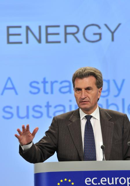 Press conference by Günther Oettinger, Member of the EC, on the Energy Strategy 2020